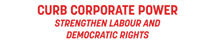 CURB CORPORATE POWER